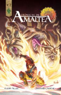 Crónicas de Amaltea No.2,Glen Miller, Fernado Peniche,Corteza  tienda de comics en México distrito federal, venta de comics en México df